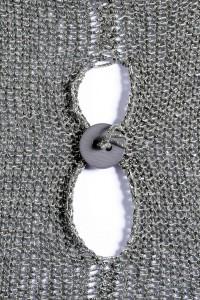 intarzia kötés gomb kombinacioval